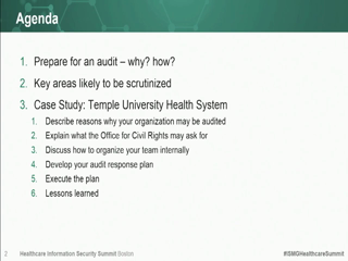 Preparing for and Passing an OCR HIPAA AuditWebinar